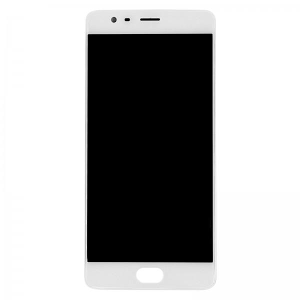 Oneplus 3T A3010 ori refurbished Displayeinheit mit Rahmen weiß