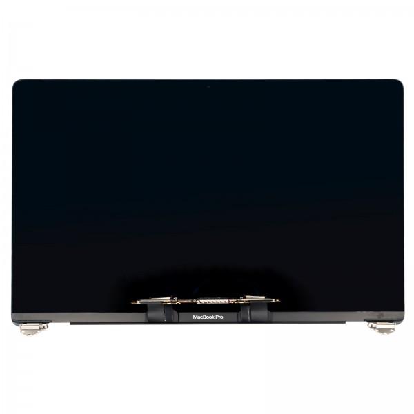 """LCD für MacBook Pro 15"""" (A1707 2016-2017 EMC 3072) mit Gehäuse silber """"PULLED"""" NEU"""