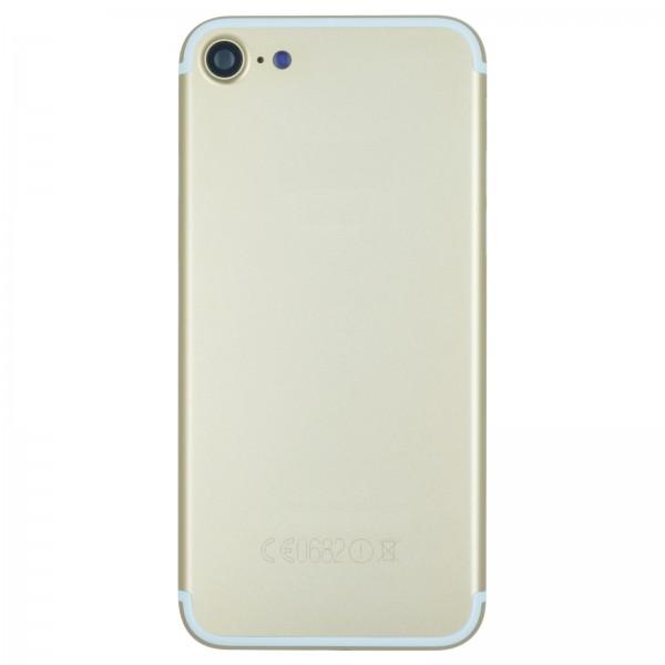 iPhone 7 Gehäuse Backcover gold mit Kameralinse