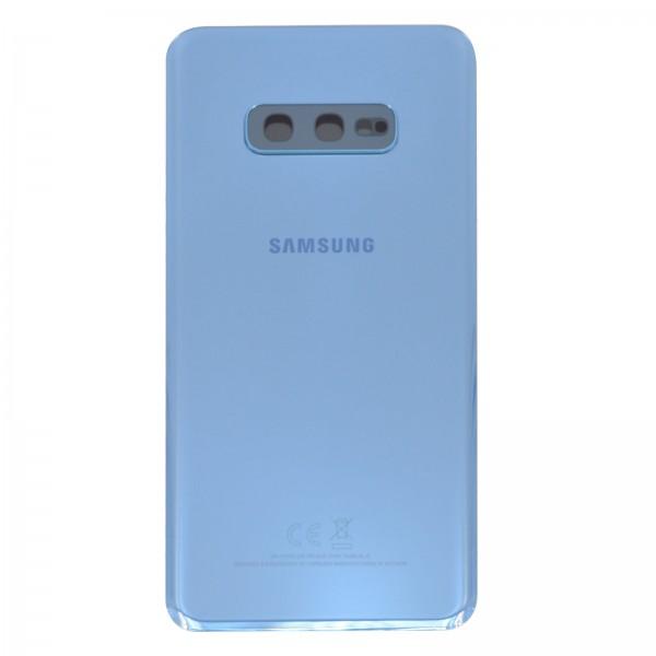 Samsung Galaxy S10e (G970F) Original Akkudeckel Serviceware Prism Blue GH82-18452C