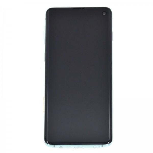 Samsung Galaxy S10 (G973F) Original Displayeinheit Serviceware Prism Green GH82-18850E