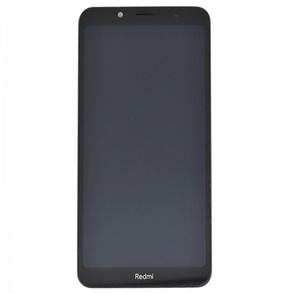 Redmi 7A ori Display mit Rahmen matt schwarz