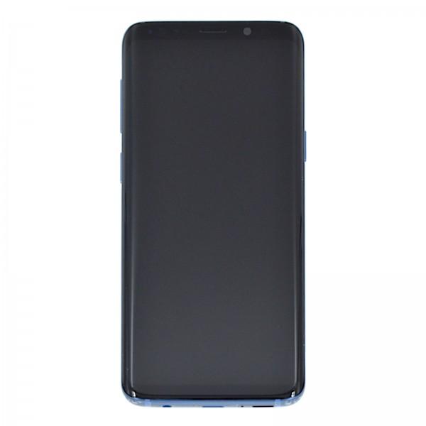 Samsung Galaxy S9 (G960F) Original Displayeinheit Serviceware Coral Blue GH97-21696D