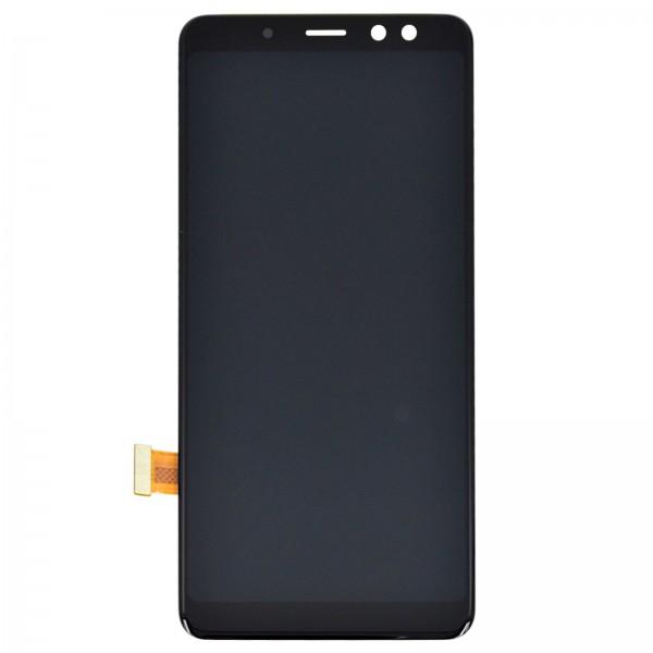 Samsung Galaxy A8 2018 (A530F) Original Displayeinheit Serviceware Black
