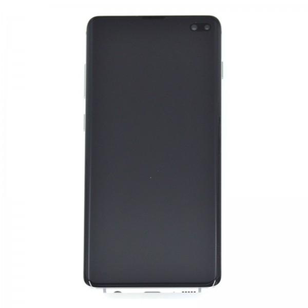 Samsung Galaxy S10 Plus (G975F) Original Displayeinheit Serviceware Prism White GH82-18849B