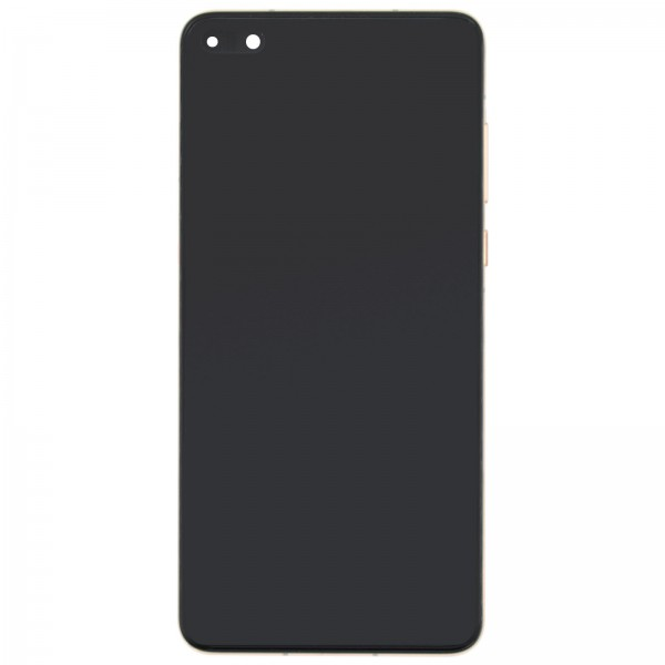 Huawei P40 Original Displayeinheit Serviceware Bush Gold 02353MFV