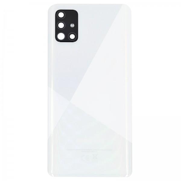 Samsung Galaxy A51 (A515F) Original Akkudeckel Serviceware Prism Crush White