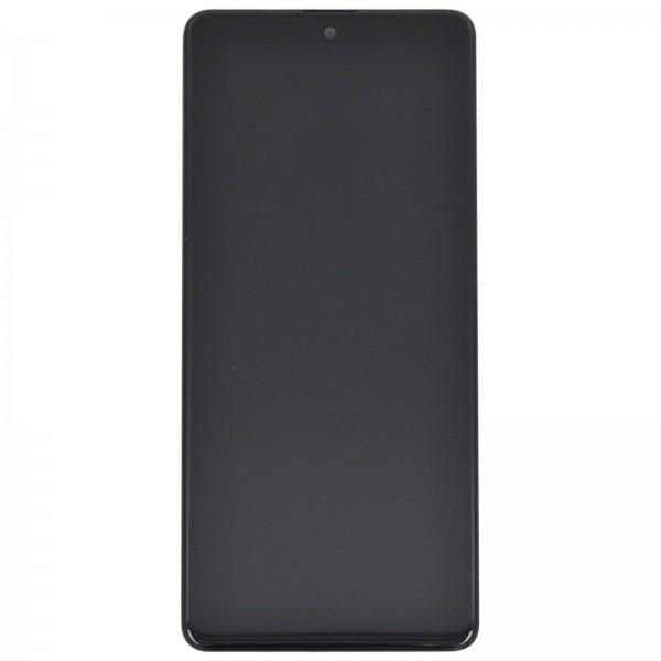 Samsung Galaxy A71 (A715F) Original Displayeinheit Serviceware Prism Crush Black GH82-22152A