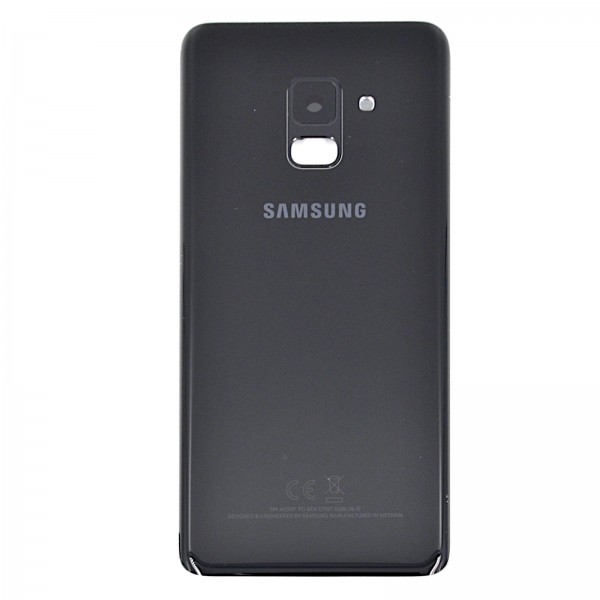Samsung Galaxy A8 2018 (A530F) Original Akkudeckel Serviceware Black GH82-15551A