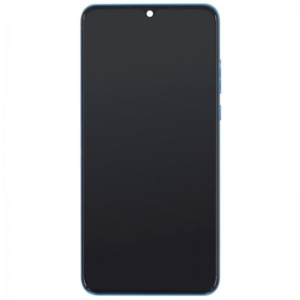 Huawei P30 Lite Global Edition (MAR-LX1M) Original Displayeinheit Serviceware Peacock Blue 02352PJP