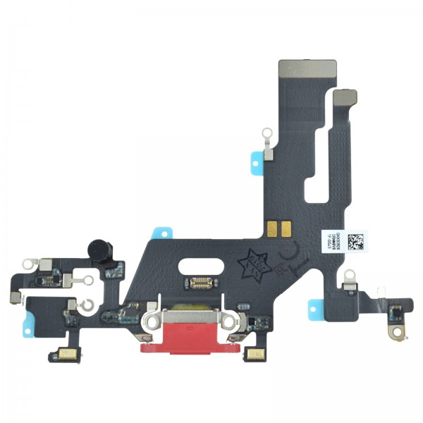 iPhone 11 Lightning Ladebuchse Chargeflex Dockconnector rot