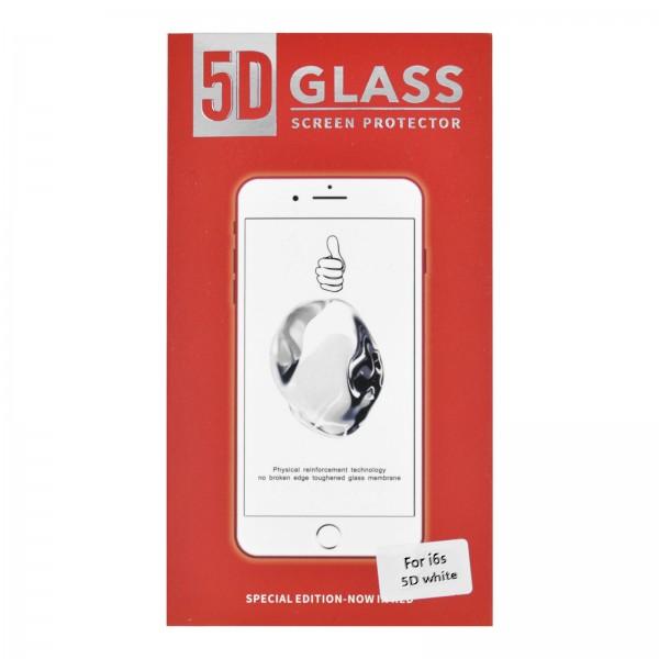 iPhone 6/6S 3D/5D-Panzerglas weiß
