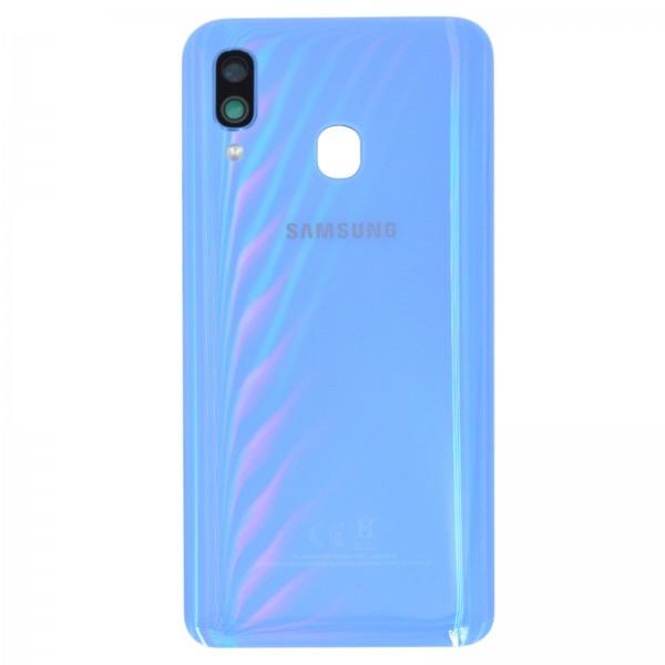 Samsung Galaxy A40 (A405F) Original Akkudeckel Serviceware Blue GH82-19406C