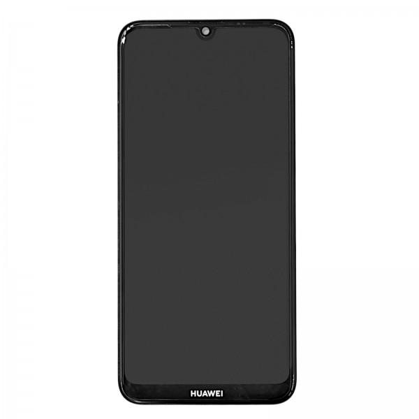 Huawei Y7 2019 Original Displayeinheit Serviceware Midnight Black 02352KCV