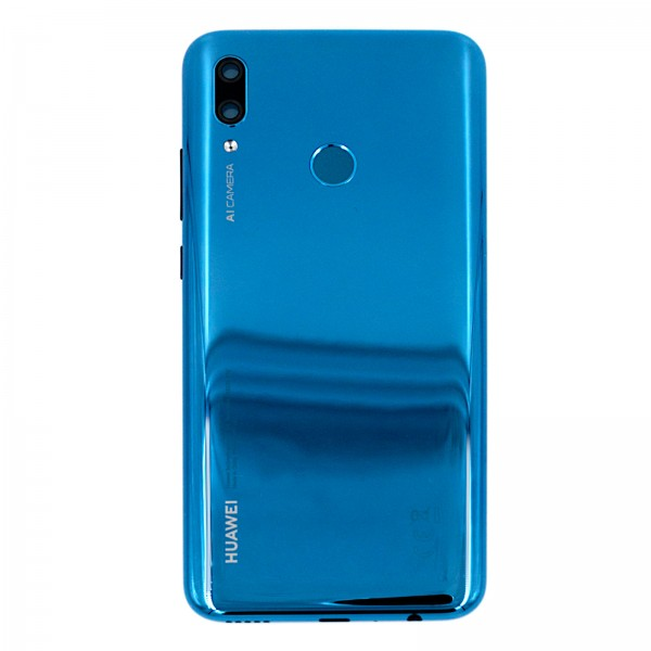 Huawei P smart 2019 Original Akkudeckel Serviceware Saphire Blue 02352LUW