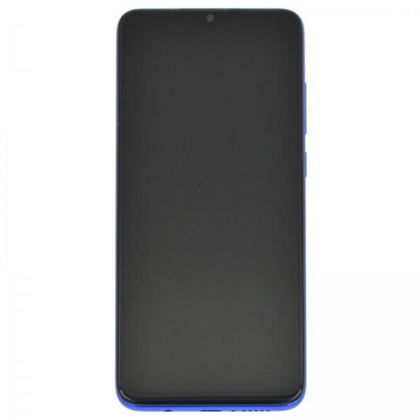 Redmi Note 8 Pro ori Display mit Rahmen blau