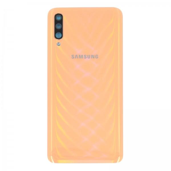 Samsung Galaxy A70 (A705F) Original Akkudeckel Serviceware Orange GH82-19467D