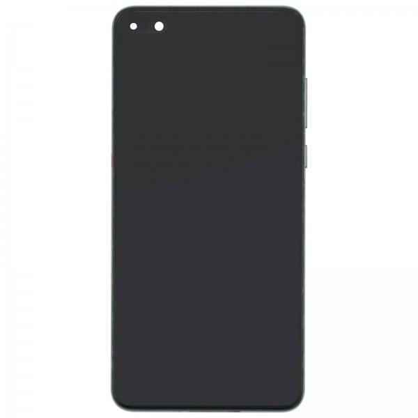 Huawei P40 Original Displayeinheit Serviceware Black 02353MFA