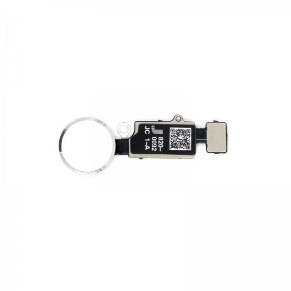 JC V6 HOMEBUTTON mit Return Funktion für iPhone 7/7+/8/8+ silber kein Löten, kein Bluetooth