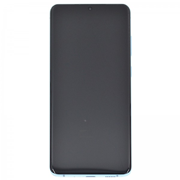 Samsung Galaxy S20+ (G985F)/5G (G986B) Original Displayeinheit Serviceware Cloud Blue GH82-22145D