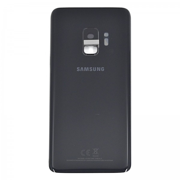 Samsung Galaxy S9 (G960F) Original Akkudeckel Serviceware Midnight Black GH82-15865A