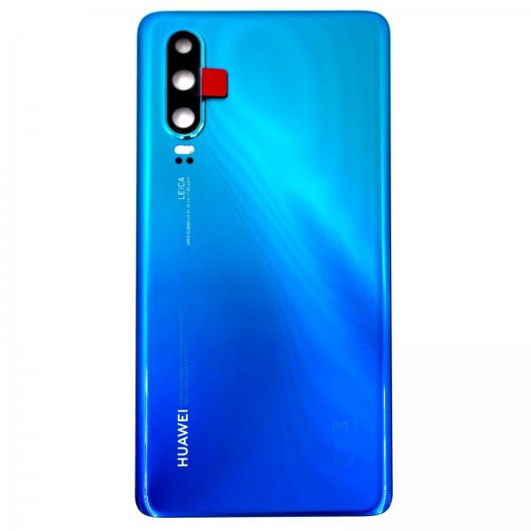 Huawei P30 Original Akkudeckel Serviceware Aurora Blue 02352NMN