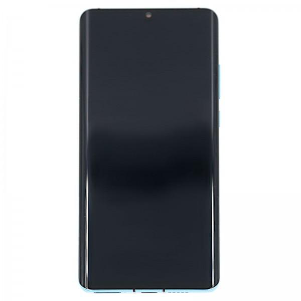 Huawei P30 Pro Original Displayeinheit Serviceware Aurora Blue 02352PGE