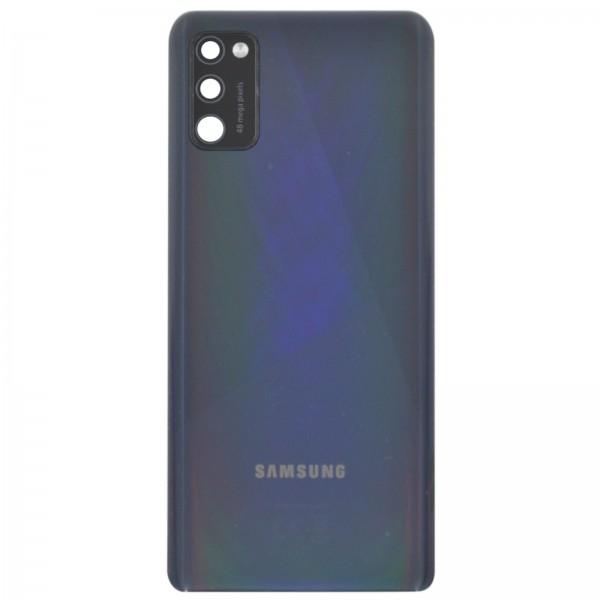 Samsung Galaxy A41 Original Akkudeckel Serviceware Black