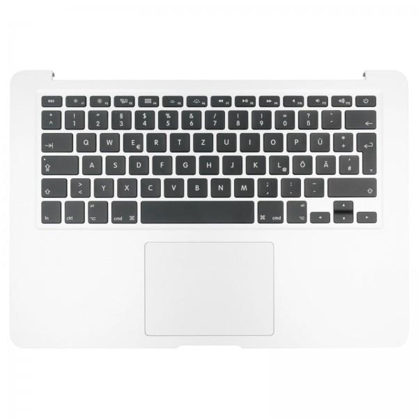 """Topcase mit Tastatur, Trackpad und Backlight für MacBook Air 13"""" (A1466) silver QWERTZ"""