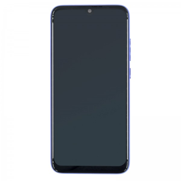 Redmi Note 7 ori Display mit Rahmen blau