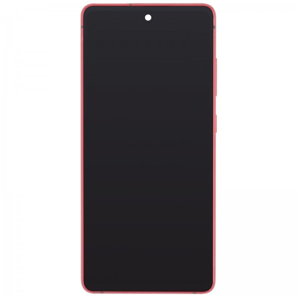 Samsung Galaxy S20 FE 4G (G780) Display + Frame Red GH82-24219E