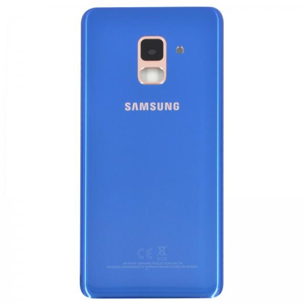 Samsung Galaxy A8 2018 (A530F) Original Akkudeckel Serviceware Blue GH82-15551D