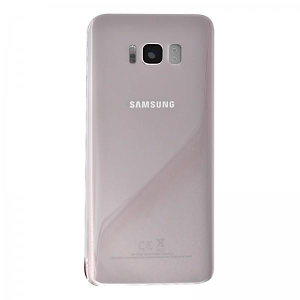 Samsung Galaxy S8 Plus (G955F) Original Akkudeckel Serviceware Rose Pink GH82-14015E