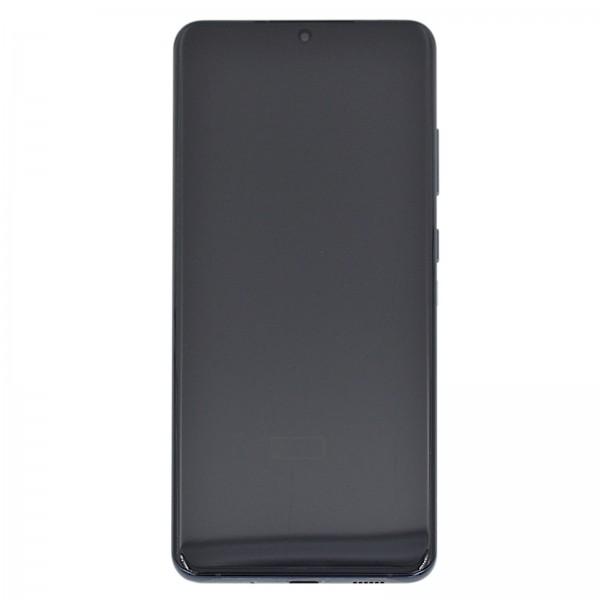 Samsung Galaxy S20 Ultra 5G (G988F) Original Displayeinheit Serviceware Cosmic Black GH82-22327A
