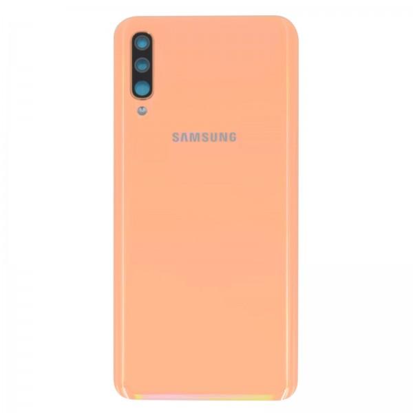 Samsung Galaxy A50 (A505F) Original Akkudeckel Serviceware Coral GH82-19229D