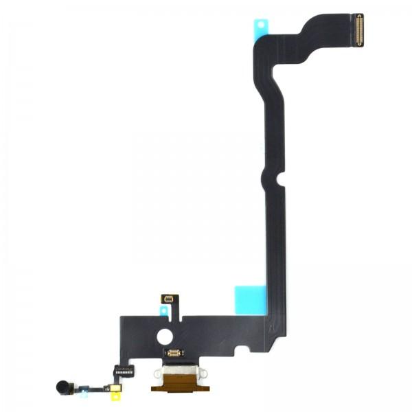 iPhone XS MAX Lightning Ladebuchse Chargeflex Dockconnector gold ori neu