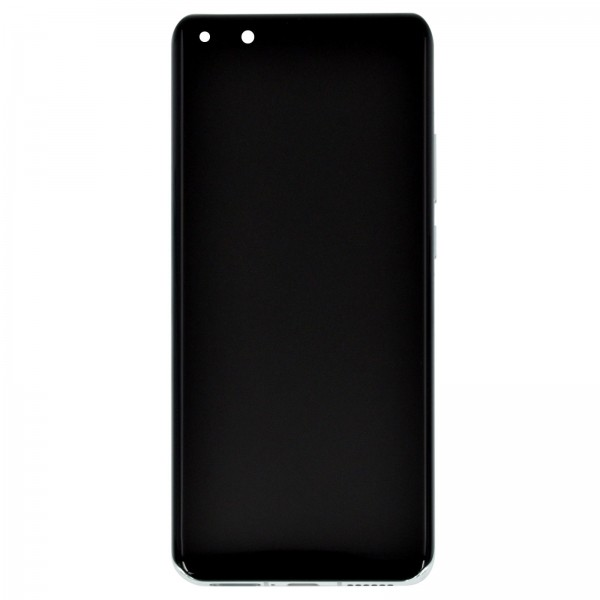 Huawei P40 Pro Original Displayeinheit Serviceware Silver Frost 02353PJK