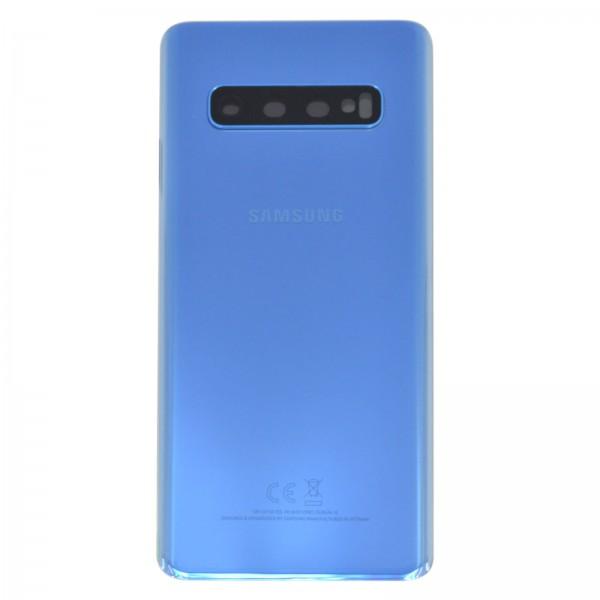 Samsung Galaxy S10 (G973F) Original Akkudeckel Serviceware Prism Blue GH82-18378C