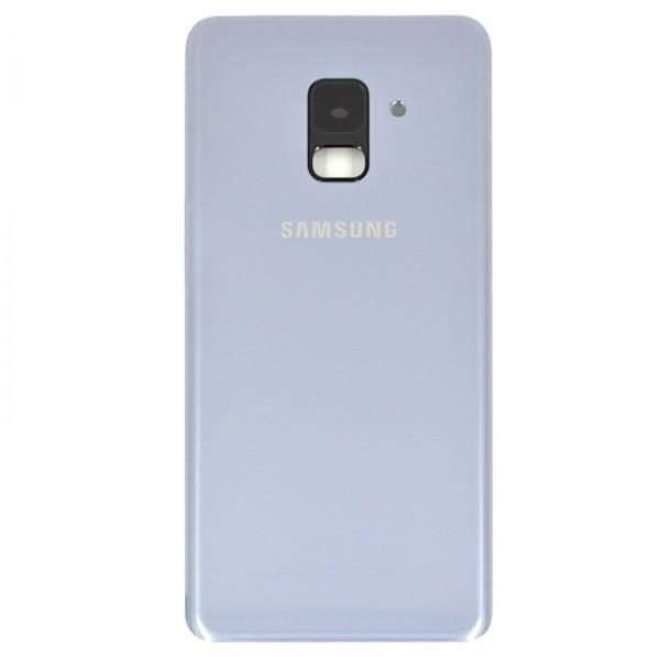 Samsung Galaxy A8 2018 (A530F) Original Akkudeckel Serviceware Orchid Grey GH82-15551B
