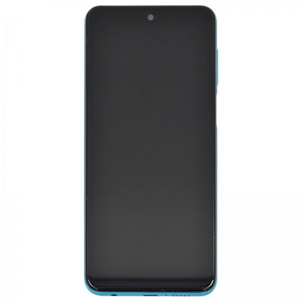 Redmi Note 9S ori Display mit Rahmen blau