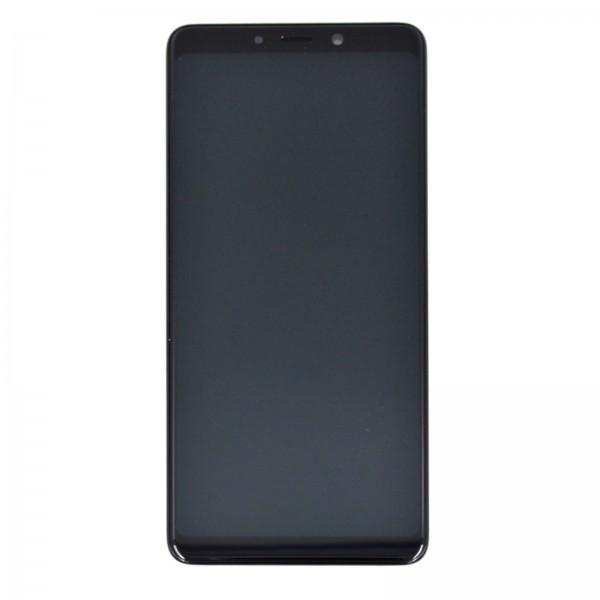 Samsung Galaxy A9 2018 (A920F) Original Displayeinheit Serviceware Caviar Black GH82-18308A