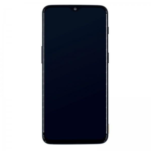 Oneplus 6T A6010 ori refurbished Displayeinheit mit Rahmen schwarz